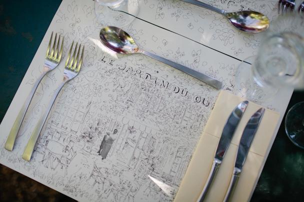 Le Jardin du Quai lunch