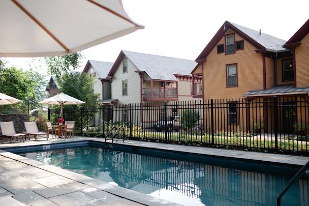 Porches Inn Pool