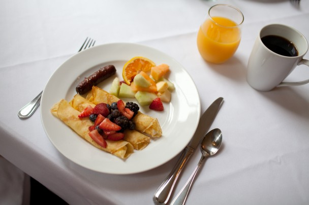 Breakfast at Princess Anne Hotel