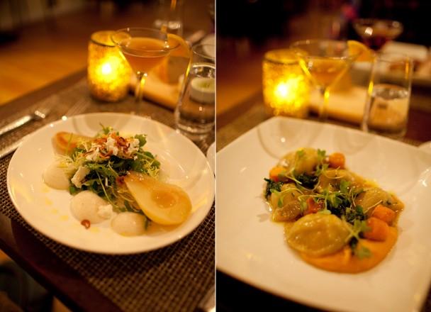 Dinner at Grace Portland ME