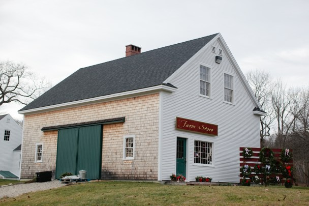 Old Farm Christmas Place Cape Elizabeth Maine