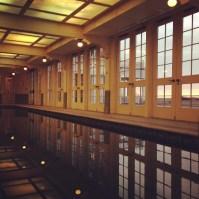 Morning swim at the Ocean House pool
