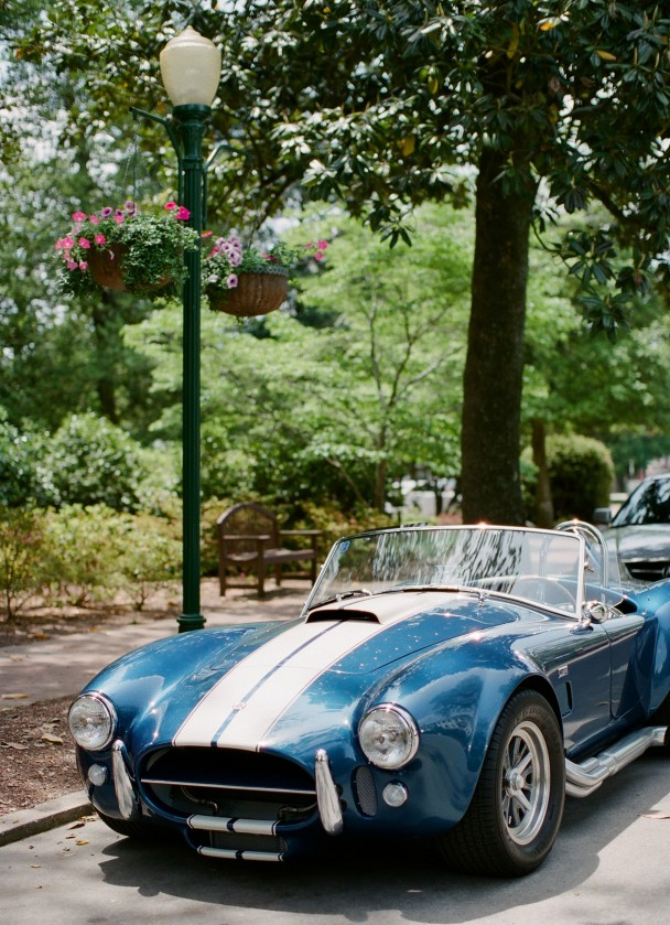 Shelby Cobra Blue