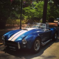 Michael's dream car in Pinehurst