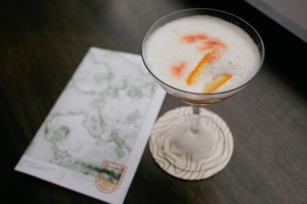 Portland Hunt and Alpine Chilton County Cocktail