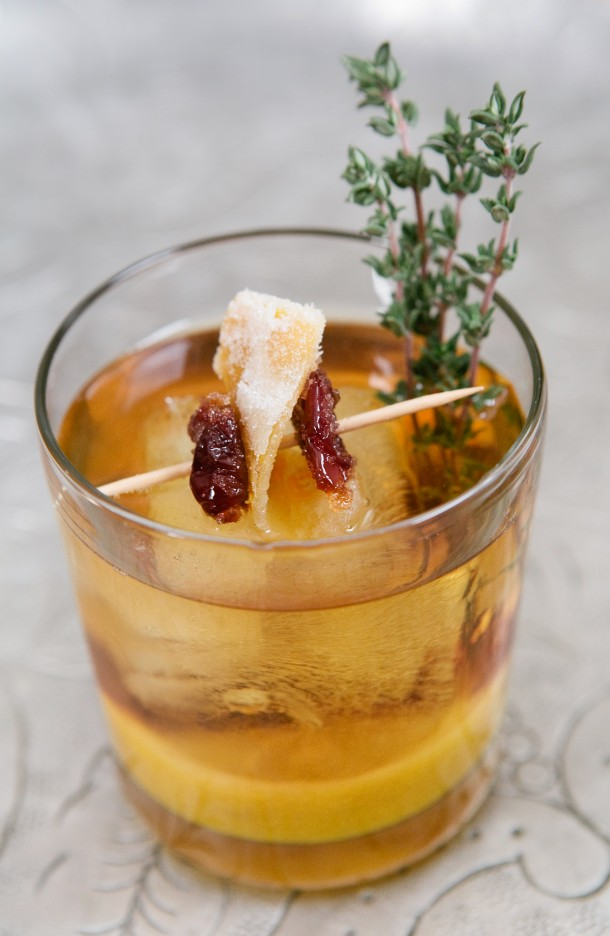 Holiday Julep Cocktail Recipe