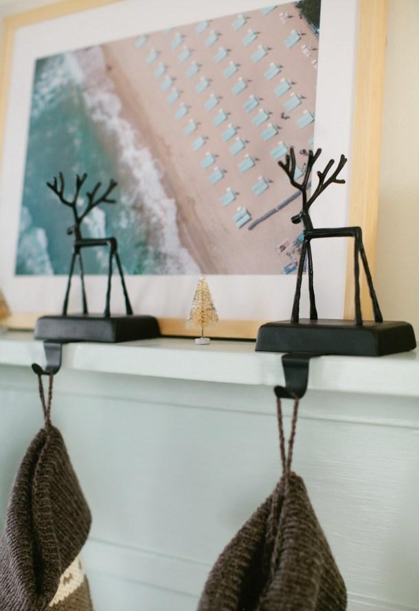 Reindeer Stocking Holders