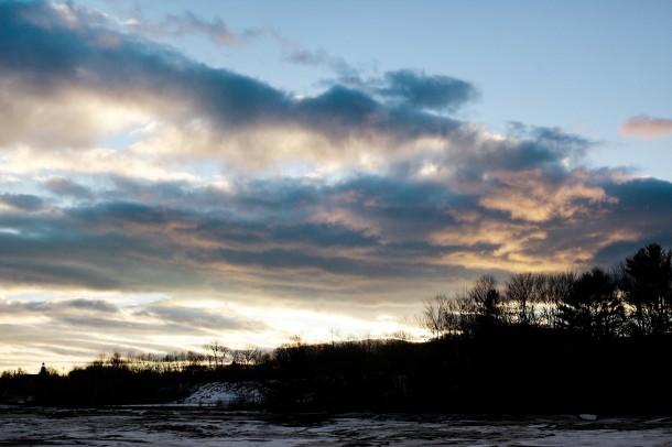 Sheepscot River Wiscasset Maine