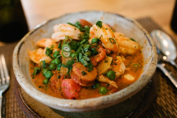 Husk Shrimp & Grits