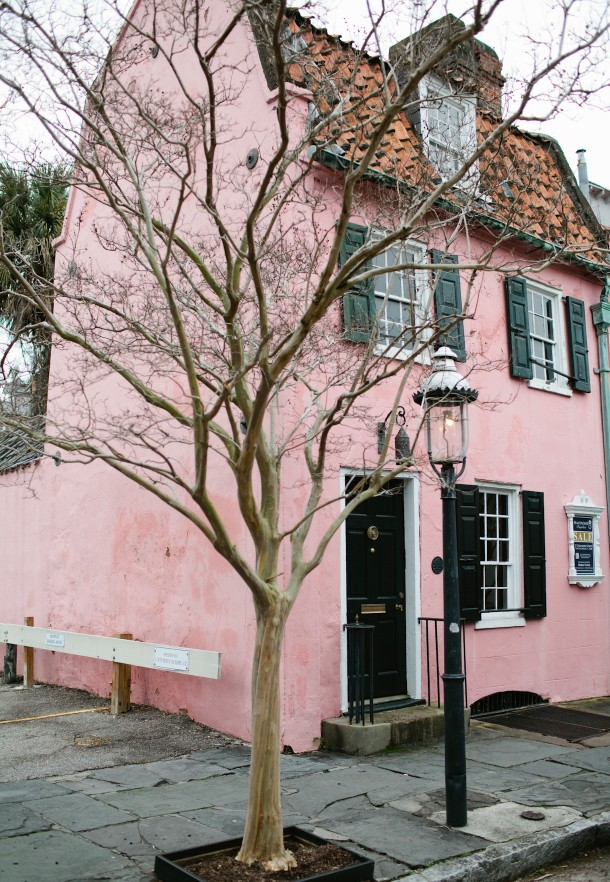 Pink House Charleston SC