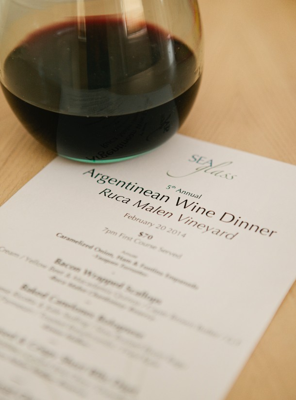 Ruca Malen Wine Dinner Maine