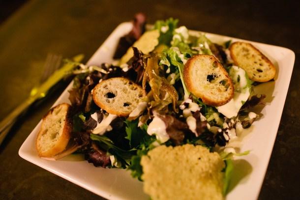 Salad at 158 Pickett Street