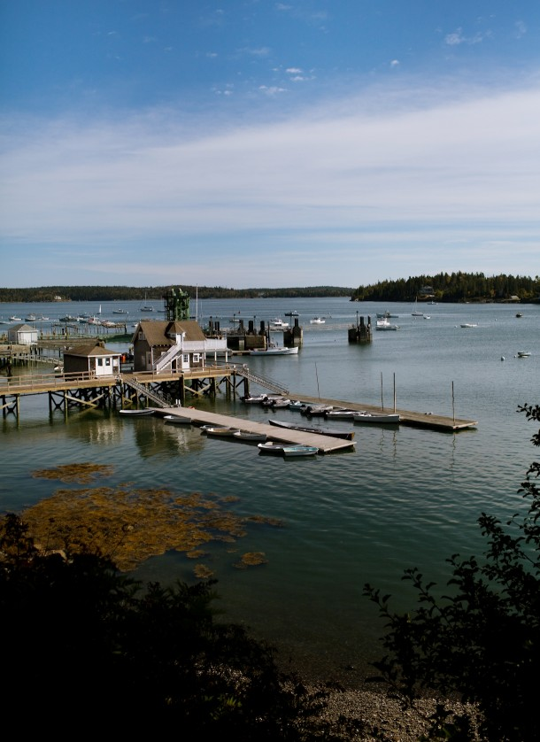 North Haven Harbor Maine