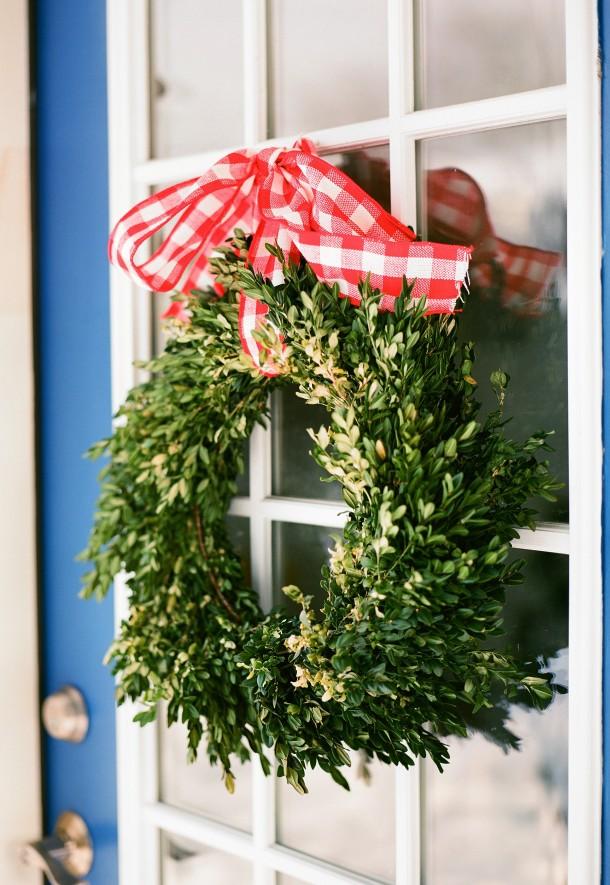 Boxwood Christmas Wreath