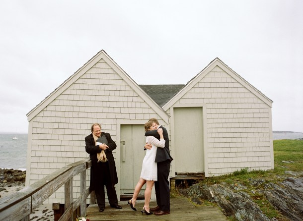Elopement by the Sea, Photo by Sarah Der