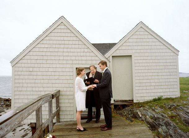 Fisherman's Point Elopement, Photo by Sarah Der