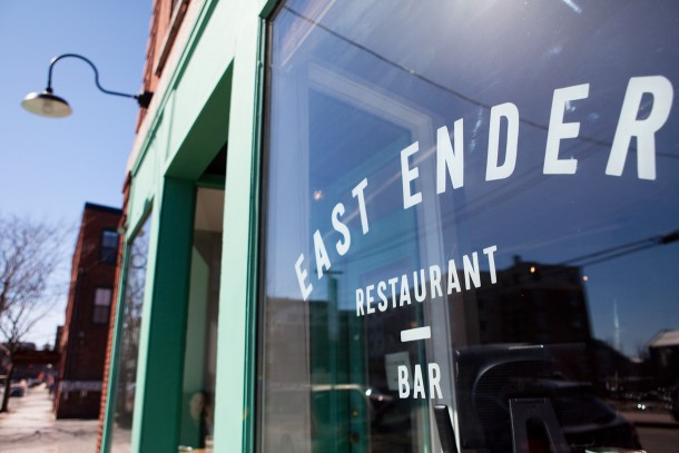East Ender, Portland Maine via Map & Menu