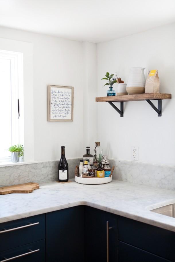 Map & Menu Kitchen Update