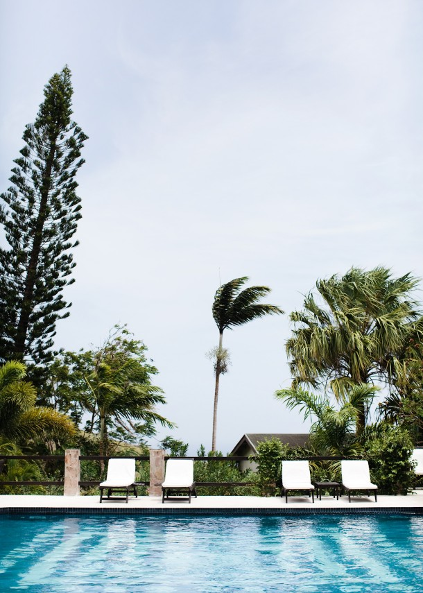 Pool at Montpelier Plantation Nevis