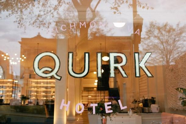 Quirk Hotel Richmond Virginia