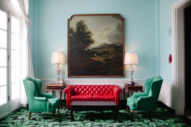Greenbrier Hotel by Meredith Perdue
