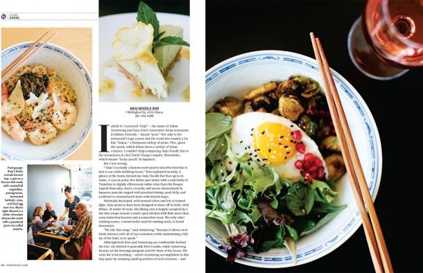 Anju for Down East Magazine