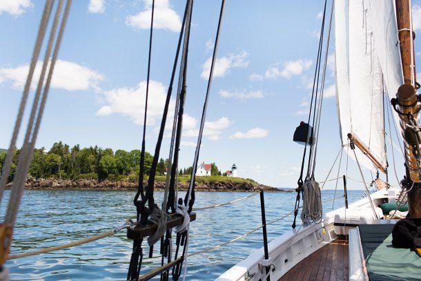 Sailing in Camden