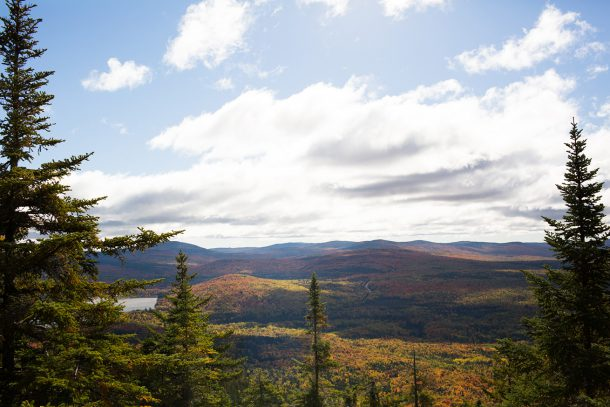 Fall Hike Bald Mountain Rangeley Maine
