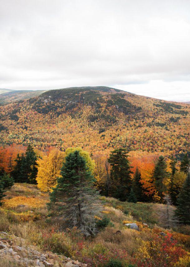 Height of Land Rangeley Maine