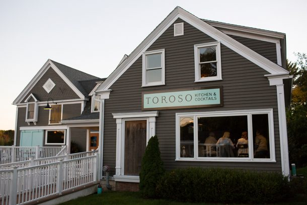 Toroso Kennebunk, Maine by Map & Menu