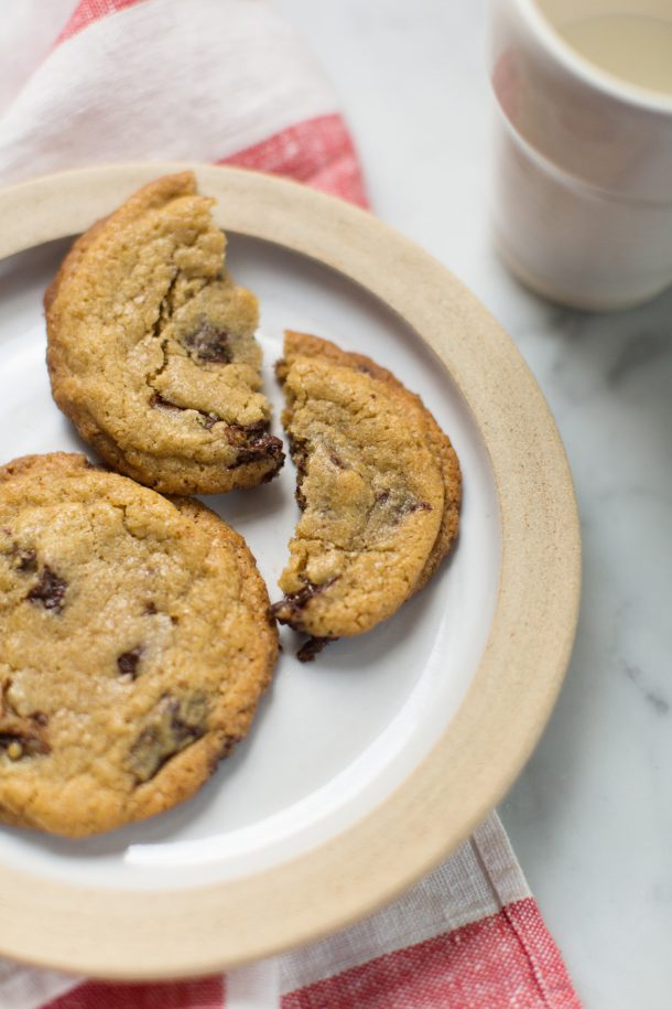 Egg Yolk Chocolate Chip Cookie Recipe from Violet Bakery Cookbook