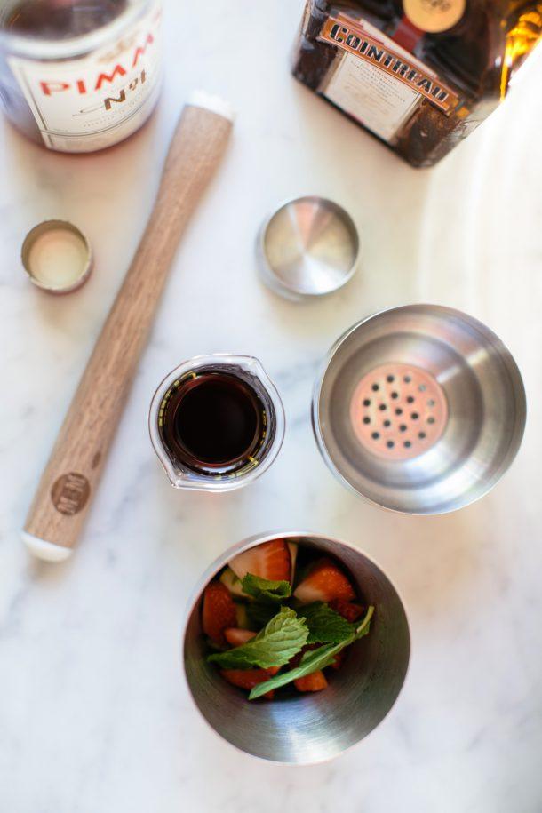 Pimm's Cup Recipe by Map & Menu