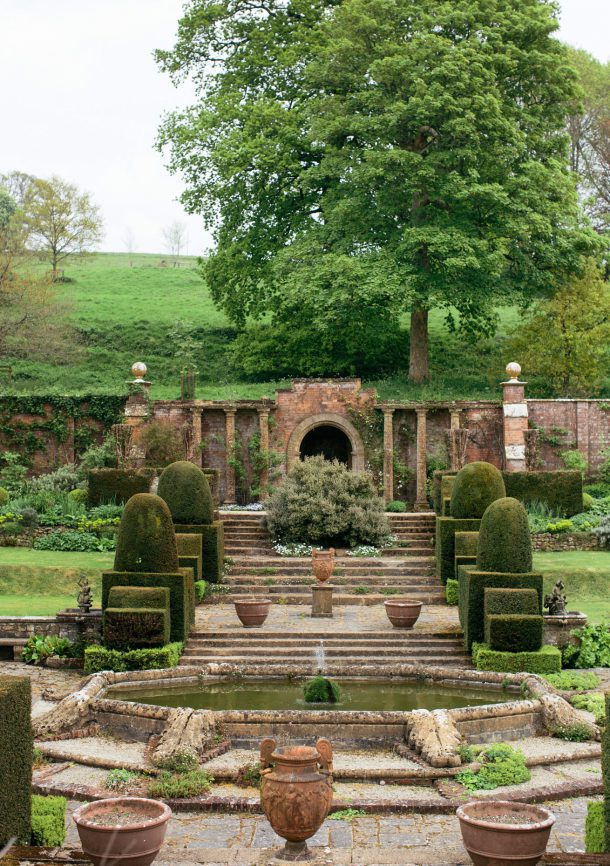 Mapperton House Gardens Dorset Travel Guide by Map & Menu
