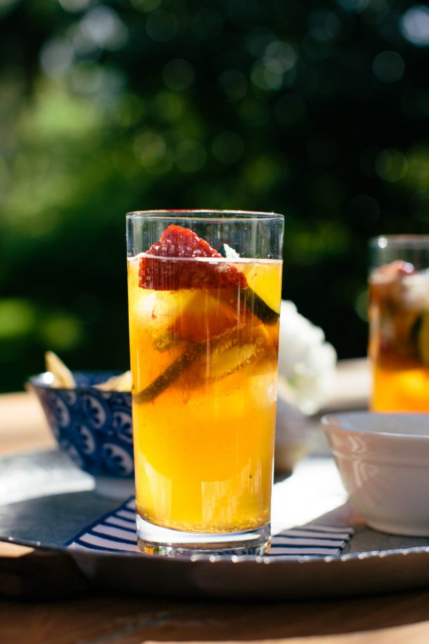 Pimm's Cup Recipe by Map & Menu