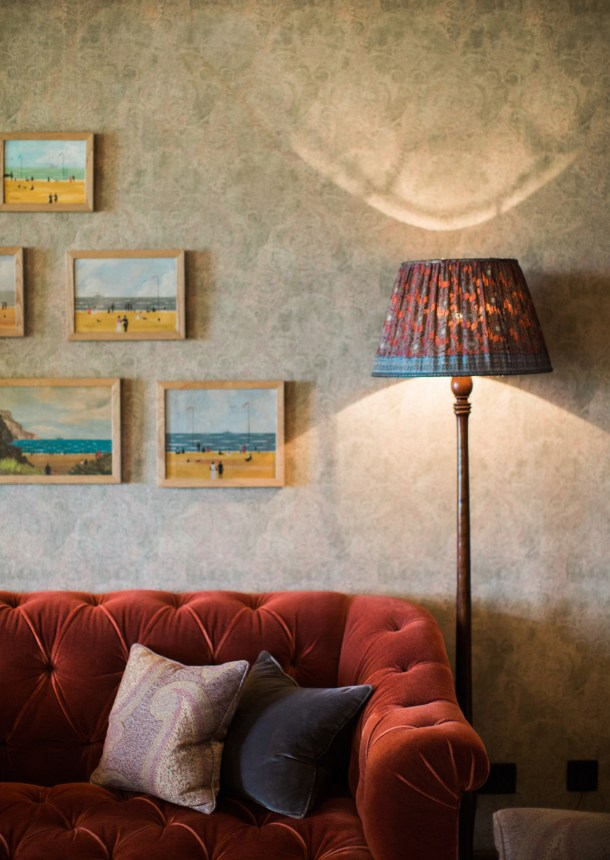 The Pig on the Beach Hotel in Dorset by Map & Menu