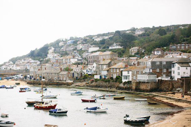 Mousehole Cornwall England Travel Guide by Map & Menu