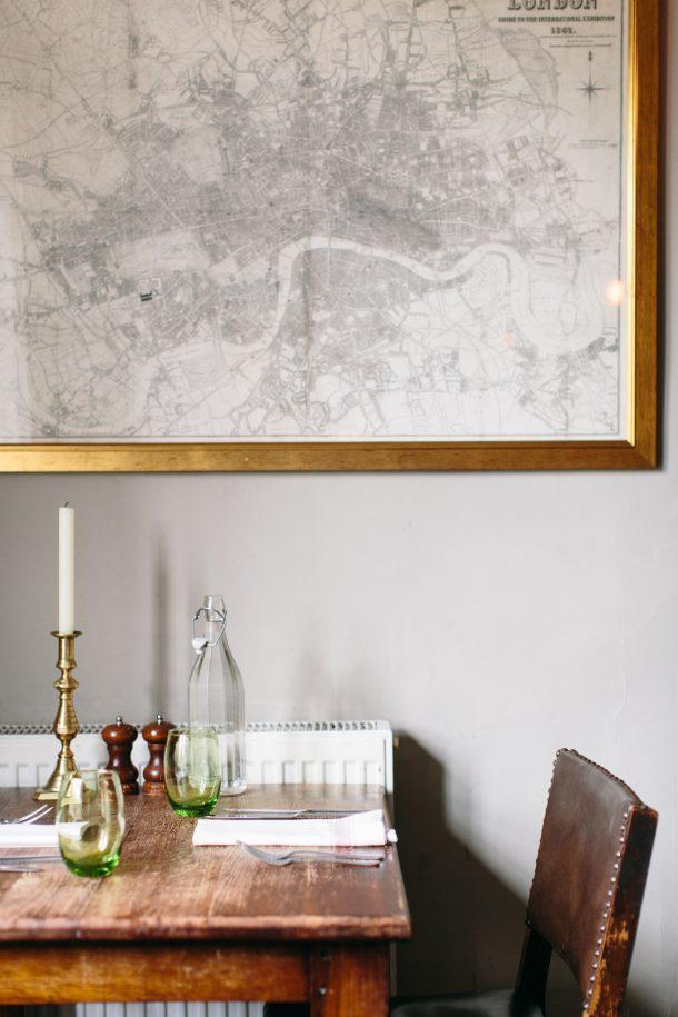 The Talbot Inn Mells by Map & Menu