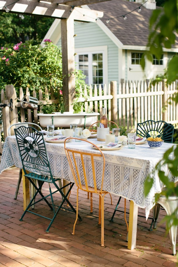 Patio Dinners by Meredith Perdue