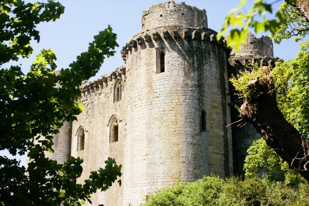 Nunney Castle on Map & Menu