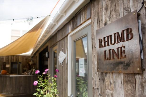 Rhumb Line Camden, Maine featured on Map & Menu