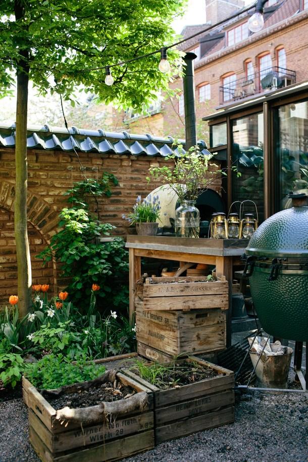 Garden at Ett Hem - Map & Menu Blog