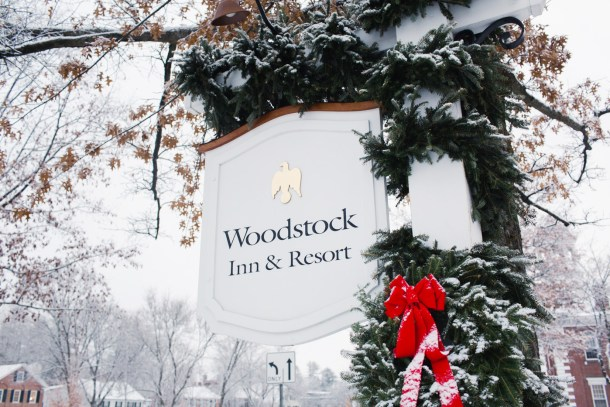 Woodstock Inn Christmas
