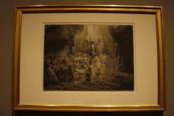 The Three Crosses (1653) engraving by Rembrandt