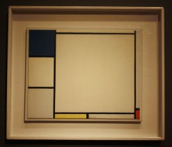 Composition with Blue, Yellow and Red (1927) by Piet Mondrian