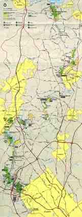 Maps Of Park Map Of Chattahoochee River National Recreation Area Georgia United States Mapa Owje Com