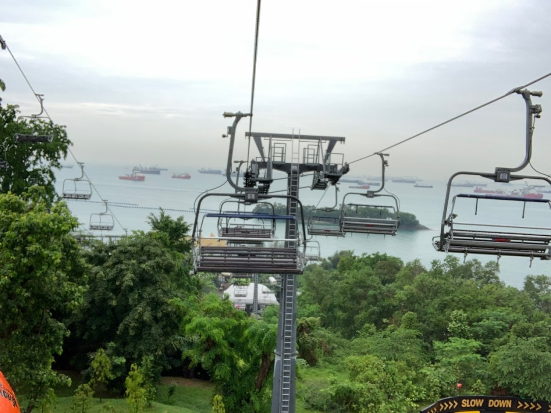 Skyline luge ride, sentosa