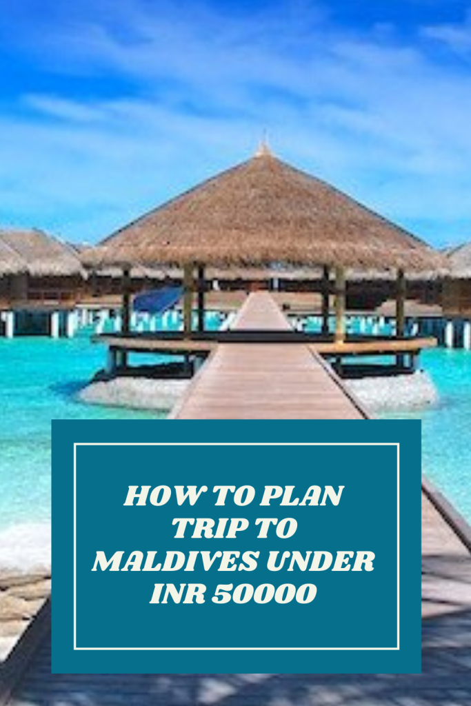 Maldives on travel budget