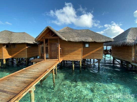 Cheap Watervillas in Maldives