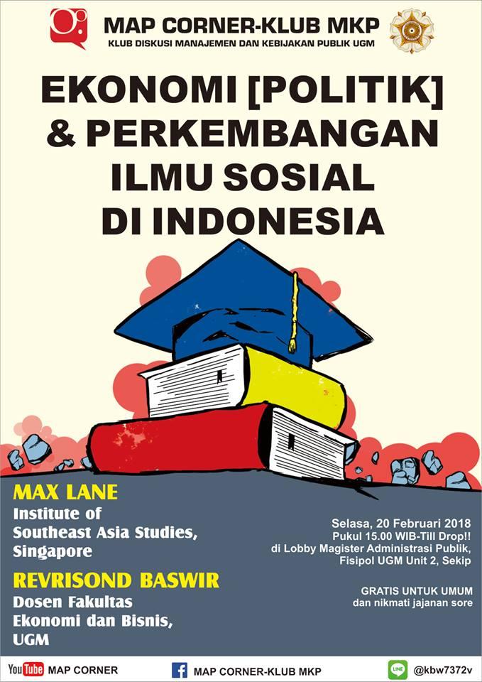 Poster Ekonomi Politik Dan Perkembangan Ilmu Sosial Di Indonesia