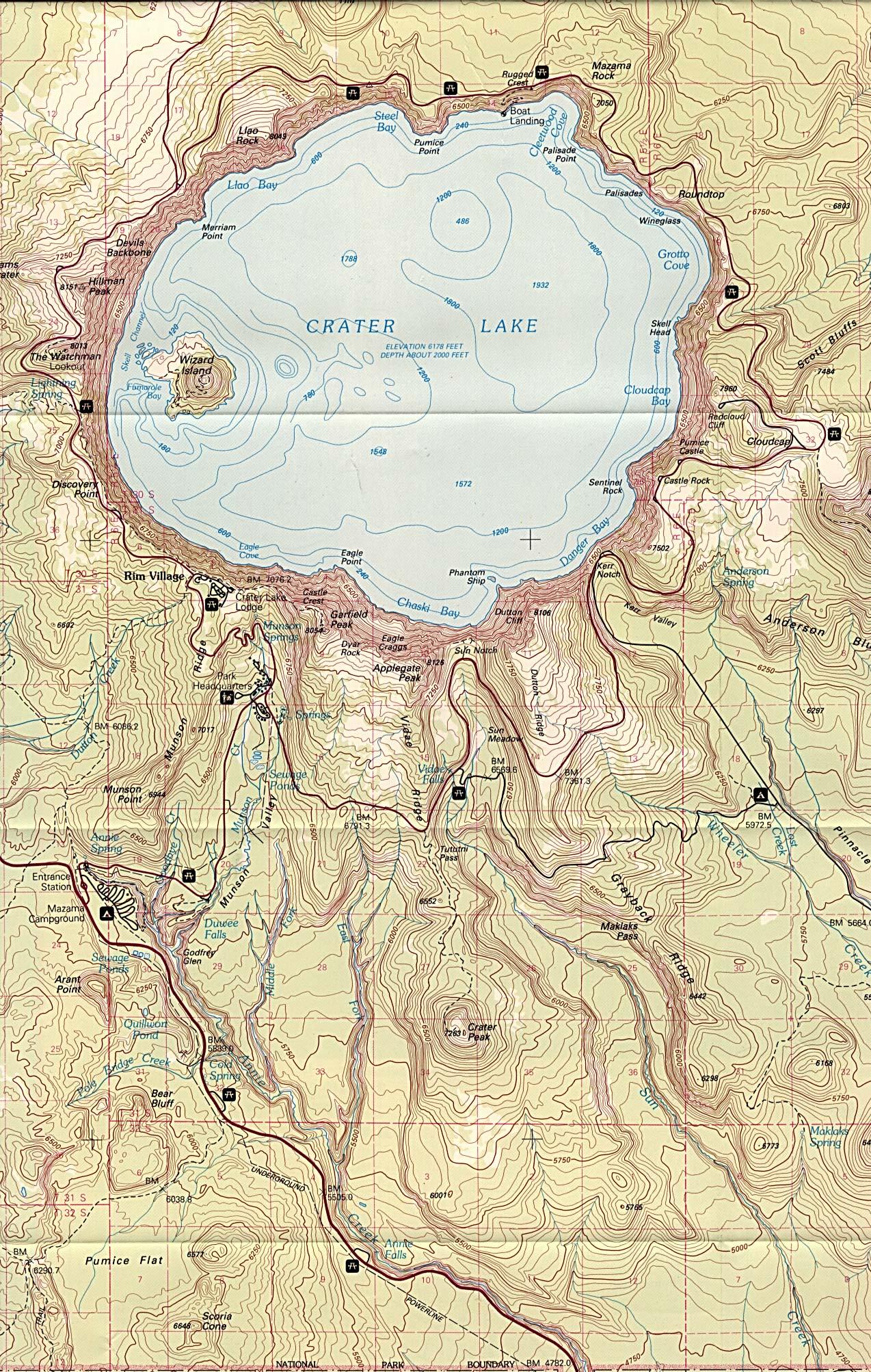 Free Download Oregon National Park Maps